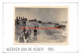 1906 Werken Aan De Dijken - Moerzeke - Places