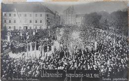 Slovenija, Jugoslavija, Ustanovitev Jugoslavije, The Foundation Of Yugoslavia, 29. 10. 1918 - Slovénie