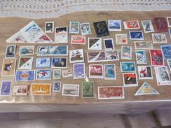 Lot De 45 Timbres Russes Urss Russie Annees 1962 1963 1964 Lenine Moscou Cosmonaute URSS U.R.S.S. - Collections
