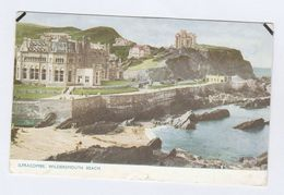 1956 Postcard WILDERSMOUTH BEACH Ilfacombe GB Stamps Cover - Ilfracombe
