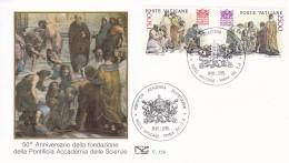 Vaticano 1986  50 Jahre Päpstliche Akademie Der Wissenschaften. Mi: 897  + 898 - Autres