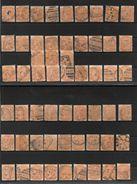 AUSTRALIE DU SUD - SOUTH AUSTRALIA YVERT NR. 6 OBLITERE ANS 1859-1867 VICTORIA 57 TIMBRES VOIR SCANS COTATION 228 EUROS - 1855-1912 South Australia