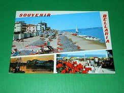 Cartolina Souvenir Di Bellaria - Vedute Diverse 1971 - Rimini