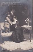 AK Familie Mit Bub In Uniform - Ob Auch Ringsum Die Feinde Dräuen - Patriotika - 1916 (29567) - Frauen