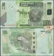 Congo. 1000 Francs (Unc) 2013. Banknote Cat# P.101b [DLC.BN04879] - Democratic Republic Of The Congo & Zaire