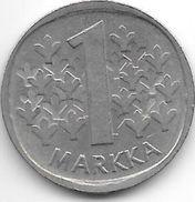 Finland 1 Markkaa 1974  Km 49 A  Xf+ - Finlande
