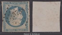 PC 3738 (Tenez, (Alger)), Cote +25€ - Marcophilie (Timbres Détachés)