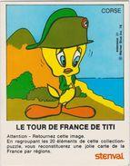 Chromo Image  Le Tour De France De Titi Corse Stenval - Vieux Papiers