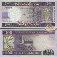 Mauritania. 100 Ouguiya (Unc) 2011. Banknote Cat# P.16 [DLC.BN04459] - Mauritania