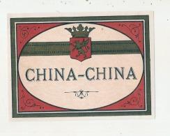 étiquette   - CHINA CHINA   ---  Petits Clairs Ou Points De Colle - Whisky