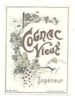 étiquette   -COGNAC VIEUX  TTB - Whisky