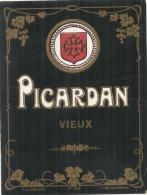 étiquette    Picardan  VIEUX - - Whisky