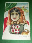 Cartolina Regioni D' Italia - SARDEGNA 1930 Ca - Cartoline