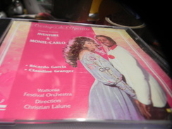 PRESTIGES DE L'OPERETTE . C.D. AVENTURE A MONTE-CARLO. FRANCIS LOPEZ. RICARDO GARCIA.CLAUDINE GRANGER. - Opera