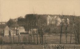 BE GAESBEEK  /  Château De Gaesbeek Lez-Bruxelles Vue Prise De La Route De Lennick-St-Quentin La Maison Du Bailli / - Lennik