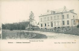 BE GISTOUX / Château Dumonceau / - Chaumont-Gistoux
