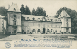 BE HABAY LA NEUVE  / Château Du Pont D'Oye / - Habay