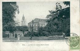 BE HALLE    / Le Parc Et Institut Notre-Dame / - Halle