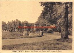 Kasteel Van Herlaar Van Baron Van Rynegom De Buzet - Herenthout - Herenthout