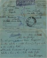 CAMPO PRIGIONIERI TRANSIT POW CAMP RAS EL TIN EGITTO 1942 X BENEVENTO - Military Mail (PM)