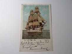 """HERMANN HACK (1872-1966) Autogramm Dt. Geograph U. Kartograph Auf Ak """"Gneisenau Kiel 1902"""" (autograph Geographer - Autogramme & Autographen"""