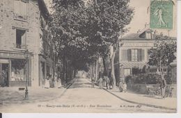 D94 - SUCY EN BRIE - RUE MONTALEAU - (PHARMACIE - CAFE) - Sucy En Brie