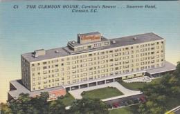 South Carolina Clemson The Clemson HOuse Hotel 1959 - Clemson