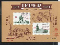 E 101     Ypres 50 Ans Plus Tard - Commemorative Labels