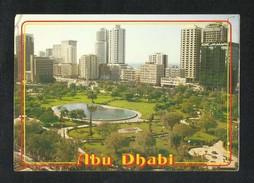 United Arab Emirates Abu Dhabi Buildings Picture Postcard View Card U A E - Dubai
