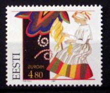 ESTONIA # 321. 4.80k, Europa - Fairy Tales. Unused, No Gum,  (**) - Estonia