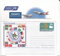 Papua New Guinea Aerogramme LF20 Mint - Papua New Guinea