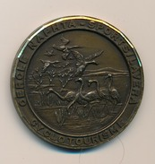 """Médaille """"CERCLE NAPHTA SPORTS LAVERA"""" - Cyclotourisme - Randonnée De La Camargue Et De La Crau - Cycling"""