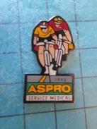 PIN815b : SPORT : CYCLISME TOUR DE FRANCE 1992 ASPRO SERVICE MEDICAL Pas Commun Et En Très Bel état !!! - Cycling