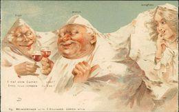 AK Berge Mit Gesichter, Eiger, Mönch, Jungfrau, F. Killinger Zürich N° 114, Um 1900, Aus Leporello (S1-230) - BE Berne