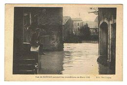 CPA 34 SERVIAN Vue Pendant Les Inondations De Mars 1930 - France