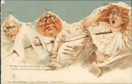 AK Berge Mit Gesichter, Eiger, Mönch, Jungfrau, F. Killinger Zürich N° 115, Um 1900, Aus Leporello (S1-231) - BE Berne