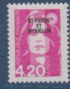 S.P.M.-1993-N°572** MARIANNE DU BICENTENAIRE - St.Pierre Et Miquelon