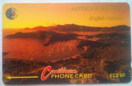 Antigua Phonecard EC$60 English Harbour 13CATD - Antigua And Barbuda