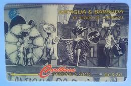 Antigua Phonecard EC$20 Carnival Queen 1964 181CATD - Antigua And Barbuda