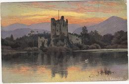Killarney - Ross Castle - (S. Hildesheimer & Co., Ltd.)  -  (Ireland) - Kerry