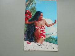TAHITI A TAHITIAN MAID - Polynésie Française