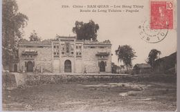 CHINE  NAM QUAN .LOC HANG THIAP.CPA ROUTE DE LONG TCHEOU .PAGODE  Réf  3627 - Cina