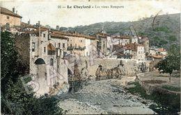 Le Cheylard (07) - Les Vieux Remparts (Circulé En 1912) - Frankreich