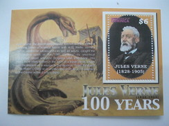 Dominica 100 Anniversary Of The Death Of Jules Verne - Cultures