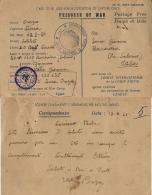 CAMPO PRIGIONIERI TRANSIT POW CAMP RAS EL TIN EGITTO 1941 BARONISSI - Military Mail (PM)