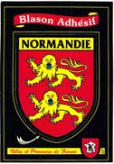 NORMANDIE - Blason Adhésif - Villes Et Provinces De France - Basse-Normandie
