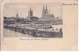 Köln A. R.  Dom , Panorama Von Deutz Aus Gesehen      **4105** - Köln