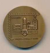 Médaille - 56ème Congrès National De La Fédération Des Sociétés Philatéliques Françaises - Marseille 1983 - France