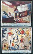Grenade Grenadines **  4 Blocs Chagall - Grenade (1974-...)