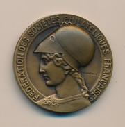 Médaille - Fédération Des Sociétés Philatéliques Françaises - France
